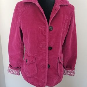 GAP.. Pink BLazer with floral lining